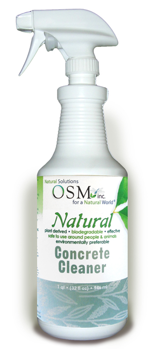 OSM Natural Concrete Cleaner 32 oz